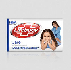 LIFEBUOY CARE  SOAP (BLUE) 125g