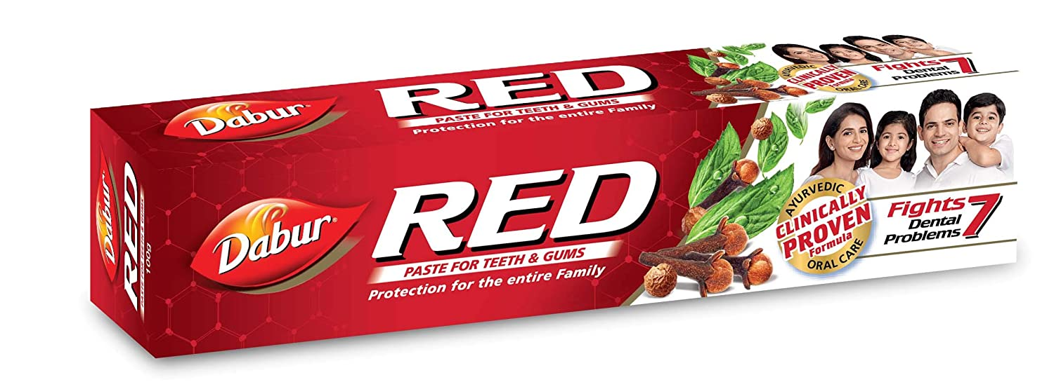 Dabur red toothpaste 100g pack